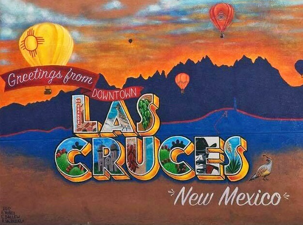 """Color Me Cruces"" Mural"